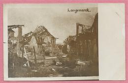 West-Vlaanderen - Flandre Occidentale - Carte Photo - Foto - LANGEMARK - Ruines - Guerre 14/18 - Carte N° 6 - Langemark-Poelkapelle