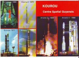 CPM/CPSM - KOUROU - Vingt Ans De Lancements - Multivues - Guyane