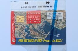MF  27  --  TELECARTE   PUBLIQUE   MONACO  N / S / B - Monaco