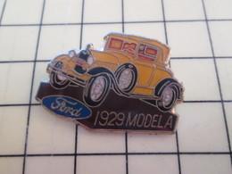 Pin813d Pin's Pins / Beau Et Rare / AUTOMOBILES : FORD MOEL A DE 1929 - Ford