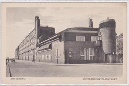 """Amsterdam Woningen Zaanstraat Hoek Postkantoor Arch.M.de Klerk Voor Woningbouwver.""""Eigen Haard""""   1648 - Amsterdam"""