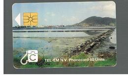 ST MAARTEN (ST. MARTIN)   - 1996 BEACH  - USED   RIF. 10781 - Antilles (Netherlands)