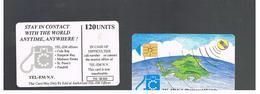 ST MAARTEN (ST. MARTIN)   - 1995 GLOBE 120 - USED   RIF. 10781 - Antilles (Netherlands)