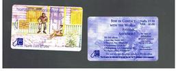 ST MAARTEN (ST. MARTIN)   -   CHEETING ON THE VERANDA                             - USED   RIF. 10782 - Antilles (Netherlands)