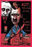 CPM Russie Jihel Tirage Signé Numéroté En 30 Exemplaires Russian Syrie Poutine Assad Hitler - Russia