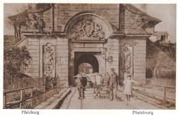 PHALSBOURG - MOSELLE - (57) - PEU COURANTE CPA - BELLE REPRODUCTION ANIMÉE. - Phalsbourg