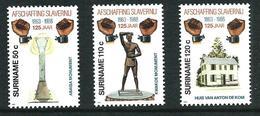 SURINAME MNH - 1988 The 125th Anniversary Of Abolition Of Slavery - Vari Cent - Michel SR 1268 1270 - Suriname