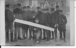 Soldats Français 47ème Régiment D'artillerie De Belfort Régiment De L'écrivain Paul Lintier 1 Carte Photo Ww1 1914-1918 - War, Military
