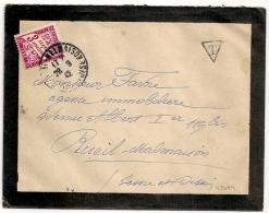 TAXE 3F RUEIL MALMAISON Seine Et Oise. 1942. - Lettres Taxées