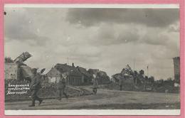 West-Vlaanderen - Flandre Occidentale - Carte Photo - Foto - LANGENMARK - Ruines - Guerre 14/18 - Carte N° 12 - Langemark-Poelkapelle