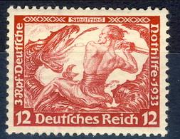 Germania Terzo Reich 1933 UN Serie N. 475 MH Cat € 30 - Germania