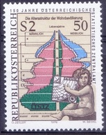 Ar4- Cherub With Measuring Instrument, Population Pyramid, Austria 1979 MNH - Other