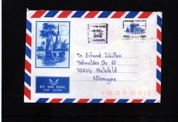 Cambodia Interesting Airmail Letter - Cambodia