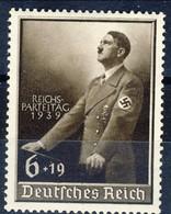 Germania Terzo Reich 1939 UN Serie N. 635 MH Postfrisch Cat € 16 - Germania