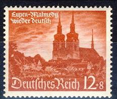 Germania Terzo Reich 1940 UN Serie N. 673 MNH Postfrisch Cat € 6,50 - Germania