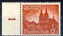 Germania Terzo Reich 1940 UN Serie N. 673 MNH Postfrisch Numero Di Tavola Cat € 9,50 - Germania