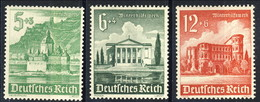 Germania Terzo Reich 1940 UN Serie N. 677, 678, 680 MNH Postfrisch Cat € 4 - Germania