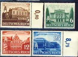 Germania Terzo Reich 1941 UN Serie N. 688-691 MNH Postfrisch Cat € 13 - Germania