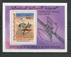 MAURITANIE Scott C195 Yvert BF26 (bloc) ** Cote 5,50 $ 1979 Surcharges - Mauritanie (1960-...)
