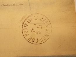 Marcophilie  Cachet Lettre Obliteration -  Postes Aux Armées BOU DENIB - Maroc - 1927 (1975) - Maroc (1891-1956)