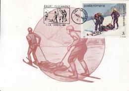 70632- MOUNTAIN RESCUE, JOBS, MAXIMUM CARD, 1994, ROMANIA - Otros
