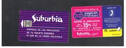 MESSICO (MEXICO) - 1996 SUBURBIA  SILVER CHIP - USED - RIF.   10784 - Mexico