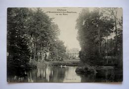 80    -  LE CHATEAU  D'HAMENCOURT LEZ DOULLENS  Vue Du Parc - France