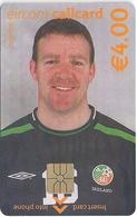 Ireland - Eircom - FIFA World Cup 2002 - Alan Kelly - 2002, 4€, 7.000ex, Mint Perfect (check Photos!) - Ireland