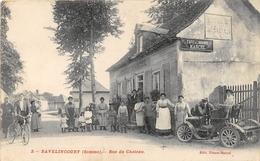 """¤¤  -   BAVELINCOURT   -   Rue Du Chateau   -  Café De La Mairie  -  Maison """" MARCEL """"         -  ¤¤ - France"""