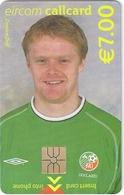 Ireland - Eircom - FIFA World Cup 2002 - Damien Duff - 2002, 7€, 7.000ex, Mint Perfect (check Photos!) - Ireland