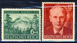 Germania Terzo Reich 1943 UN Serie 773-774 Coppia MH Cat. € 0,50 - Germania