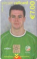 Ireland - Eircom - FIFA World Cup 2002 - Ian Harte - 2002, 7€, 7.000ex, Mint Perfect (check Photos!) - Ireland