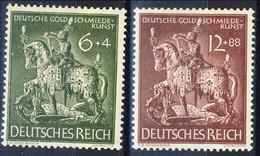 Germania Terzo Reich 1943 UN Serie N. 776 MH Postfrisch Cat € 1,10 - Germania