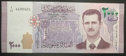 Syria 2014 2000 Pounds, Liras . P-117, UNC - Old Musical Instruments - Syria