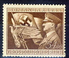 Germania Terzo Reich 1944 UN Serie N. 784 MNH Postfrisch Cat. € 2 - Germania