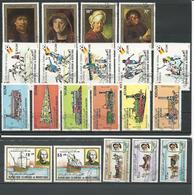 MAURITANIE 5 Séries Complètes Voir Détail (20) O Cote 9,50$ 1980-81 - Mauritanie (1960-...)