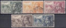 ESPAÑA 1951 Nº 1097/01 SERIE COMPLETA USADA BIEN CENTRADA - 1931-Hoy: 2ª República - ... Juan Carlos I