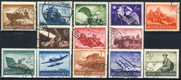 Germania Terzo Reich 1944 UN Serie N. 790-802 MNH Postfrisch Cat € 25 - Gebraucht
