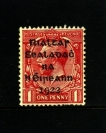 IRELAND/EIRE - 1922  1 D.  OVERPRINTED DOLLARD  MINT  SG 2 - 1922 Governo Provvisorio