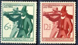 Germania Terzo Reich 1944 UN Serie N. 817-818 MNH Postfrisch Cat. € 1,10 - Germania