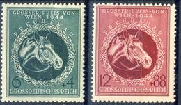Germania Terzo Reich 1944 UN Serie N. 820-821MH Cat € 0,35 - Germania
