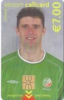 Ireland - Eircom - FIFA World Cup 2002 - Niall Quinn - 2002, 7€, 7.000ex, Mint Perfect (check Photos!) - Irlanda