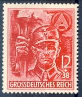 Germania Terzo Reich 1945 UN Serie N. 825-826 MNH Postfrisch Cat € 95 - Germania