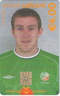 Ireland - Eircom - FIFA World Cup 2002 - Richard Dunne - 2002, 4€, 7.000ex, Mint Perfect (check Photos!) - Ireland