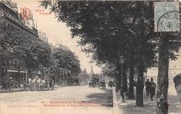 ¤¤  -   TOUT  PARIS    -  Boulevard Du Temple  -  Perspective De La Place De La République      -  ¤¤ - Arrondissement: 03