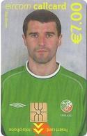 Ireland - Eircom - FIFA World Cup 2002 - Roy Keane - 2002, 7€, 7.000ex, Mint Perfect (check Photos!) - Ireland