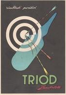 Cartolina D'epoca Pubblicitaria TRIOD - Zambeletti - Medicinali - Anno 1952 - Salute