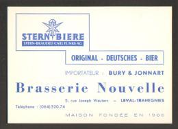 Belgique - Brasserie - Laval-Trahegnies Brasserie Nouvelle - Stern Bière - Bier