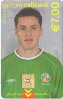 Ireland - Eircom - FIFA World Cup 2002 - Steve Finnan - 2002, 7€, 7.000ex, Mint Perfect (check Photos!) - Ireland