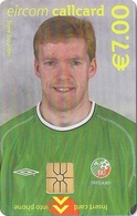 Ireland - Eircom - FIFA World Cup 2002 - Steve Staunton - 2002, 7€, 7.000ex, Mint Perfect (check Photos!) - Ireland
